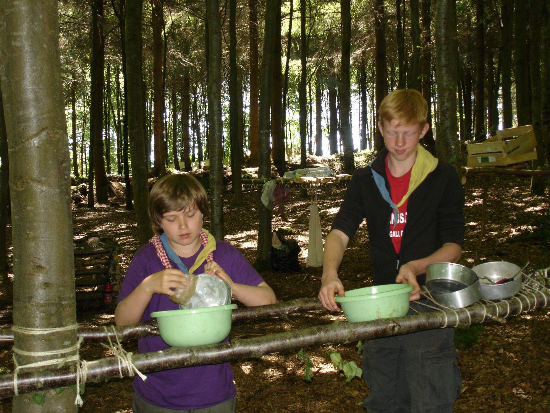 Camp d'été Eclaireurs 2010