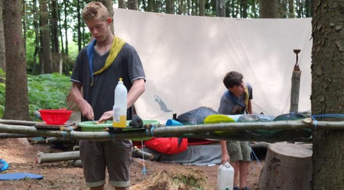 Les photos du dernier camp Eclaireurs