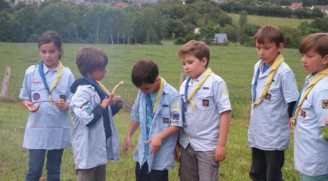 Les photos du dernier camp Louveteaux