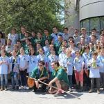 groupe local EEUDF mai 2014 maire
